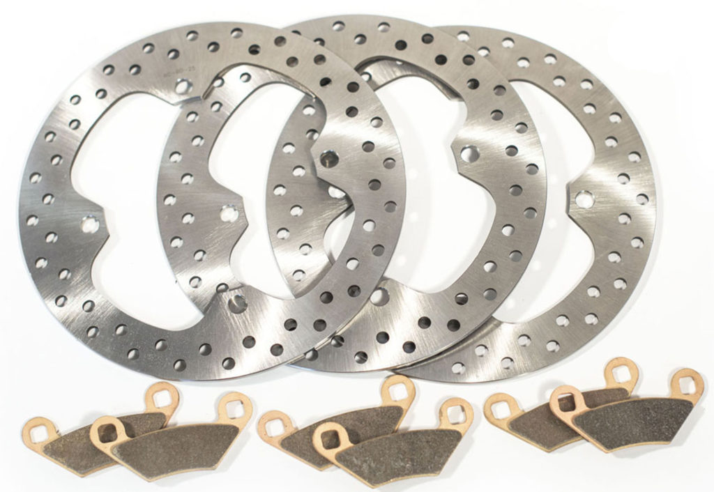 2009 2010 2011 2012 2013 Polaris Sportsman XP 850 Front Brake Rotors Discs
