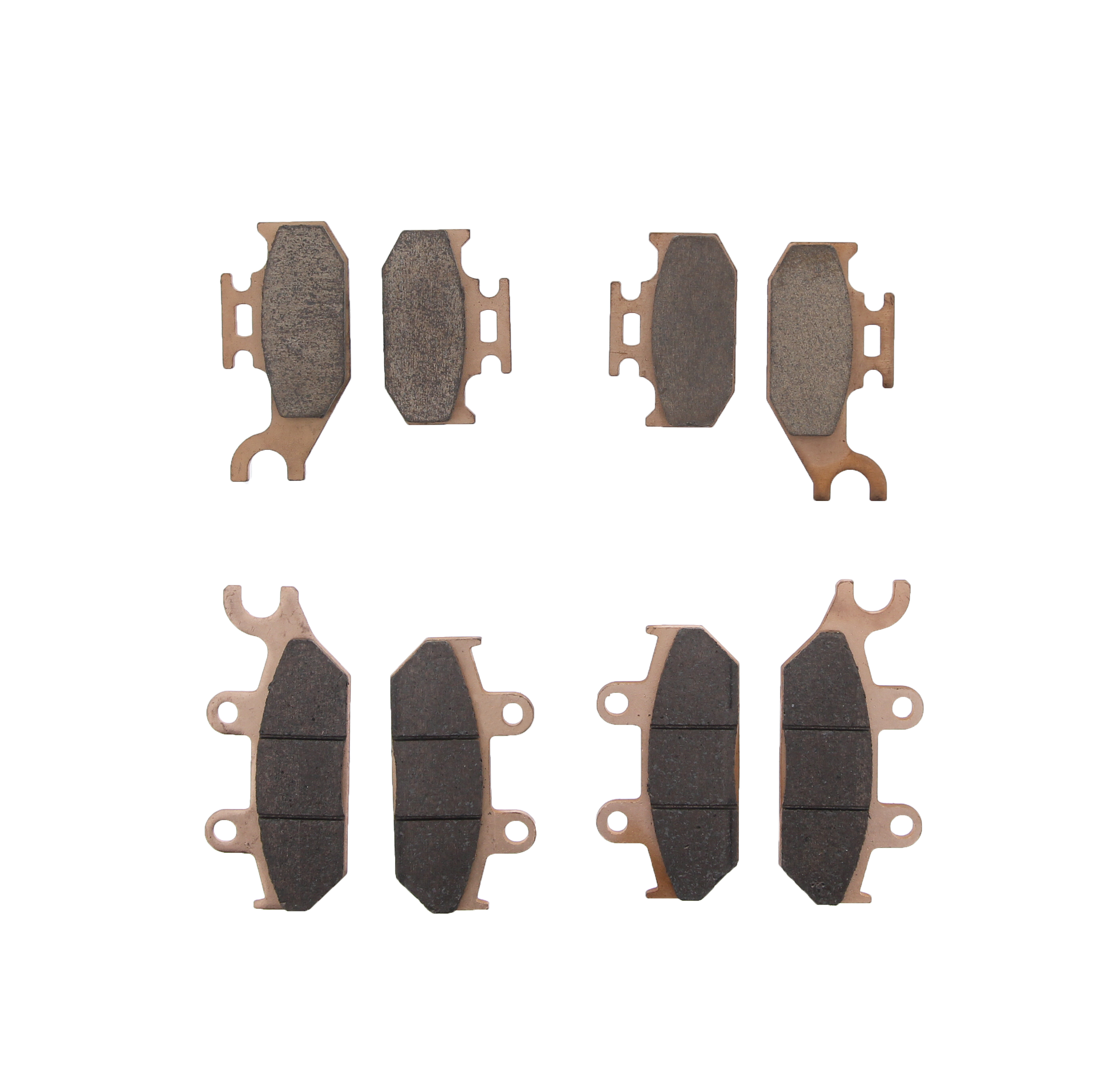 Brake Pads for Can-Am Outlander XMR 650 2013-19 Front /& Rear Brakes Race-Driven