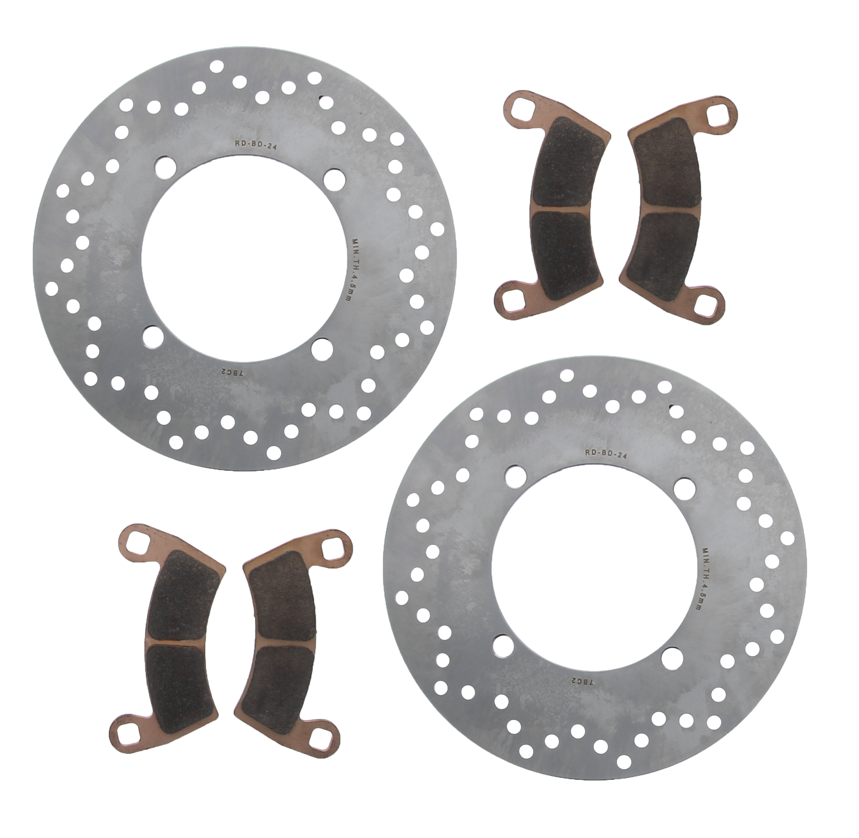 FRONT BRAKE DISC ROTOR FITS Polaris RANGER XP 800 2012