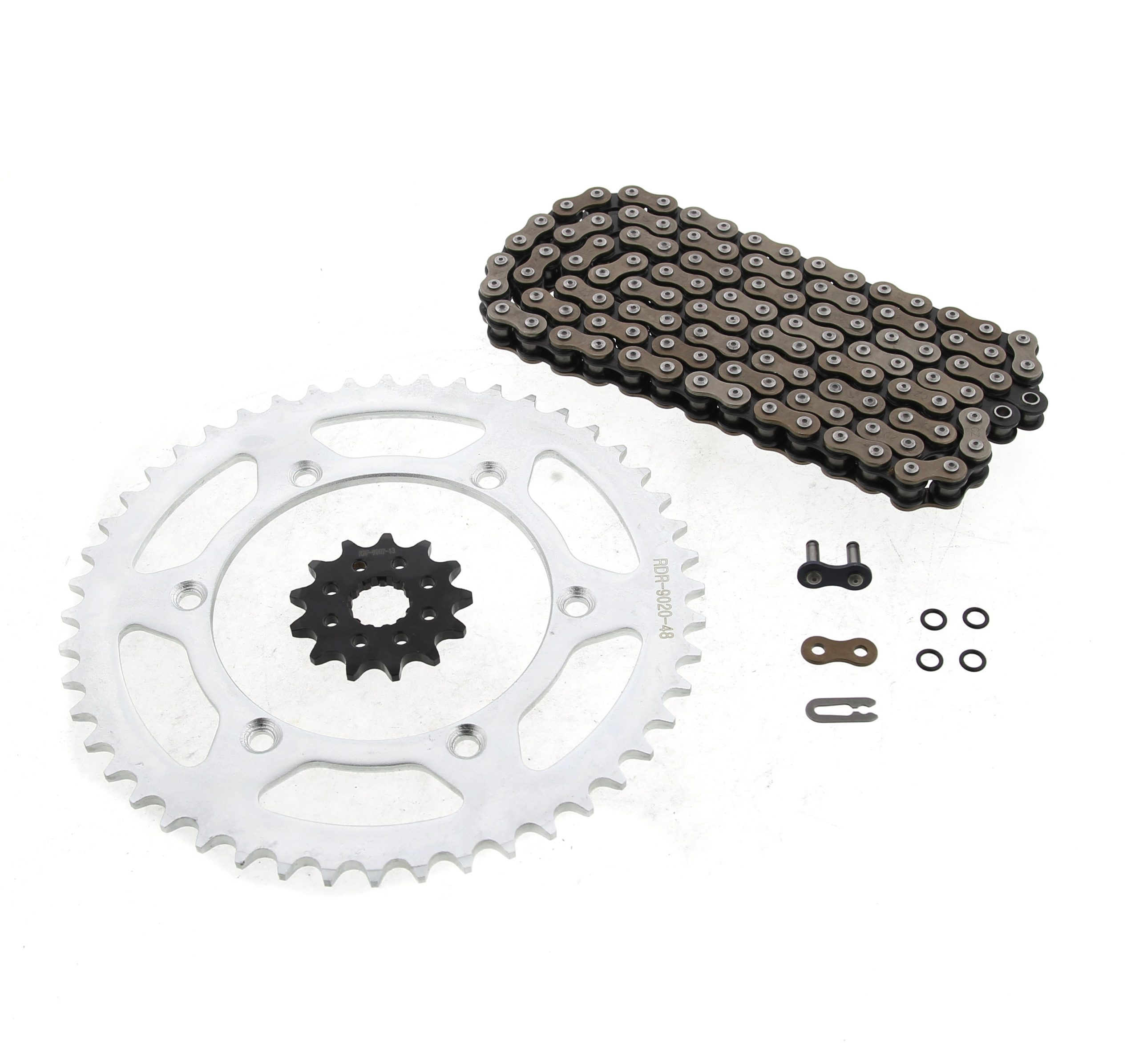 2003-2014 fits Yamaha WR450 F WR 450F 15 Tooth Front and 48 Tooth Rear Sprocket